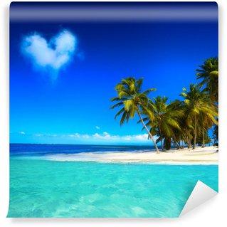 Vinylová Fototapeta Art beautifu přímořské pohled pozadí