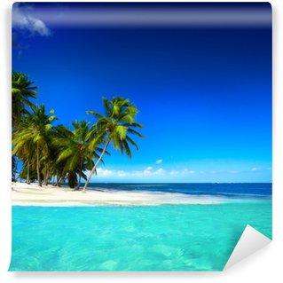 Vinylová Fototapeta Art krásné přímořské pohled na pozadí