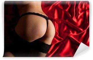 Vinylová Fototapeta Ass v sexy prádle