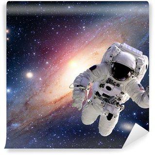 Vinylová Fototapeta Astronaut kosmonaut oblek vesmír sluneční soustava lidé vesmíru. Prvky tohoto obrázku zařízeném NASA.