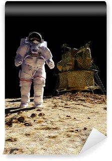 """Vinylová Fototapeta Astronaut """"Prvky tohoto obrázku poskytované NASA"""""""