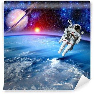 Vinylová Fototapeta Astronaut Spaceman Outer Space