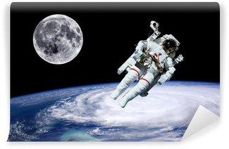 Vinylová Fototapeta Astronaut Země Měsíc Space