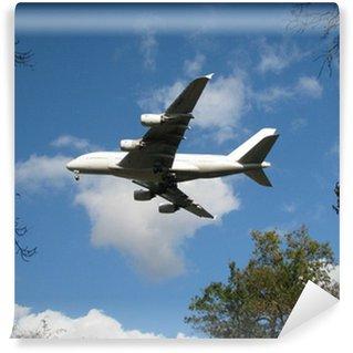 Vinylová Fototapeta Avion Airbus A380