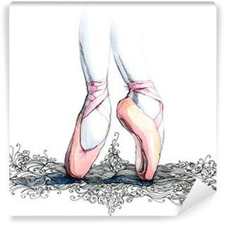 Vinylová Fototapeta Balet tanečník (řada C)