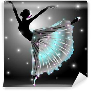 Vinylová Fototapeta Baletka Ballet Dancer-Star Dance-Classic Vector