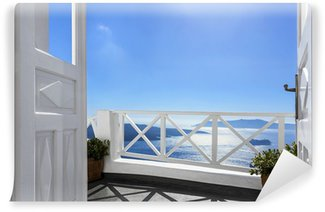 Vinylová Fototapeta Balkon nad mořem