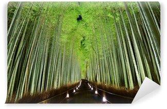 Vinylová Fototapeta Bamboo Forest v Kjótu, Japonsko