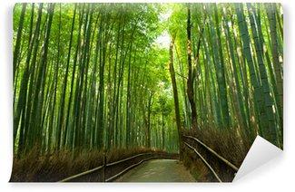 Vinylová Fototapeta Bambusový háj