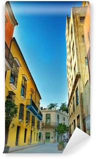 Vinylová Fototapeta Barevné fasády Havana města