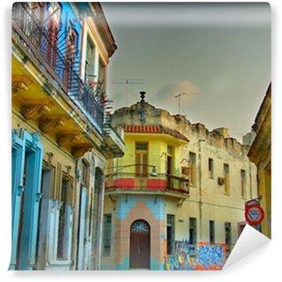 Vinylová Fototapeta Barevné Havana budovy