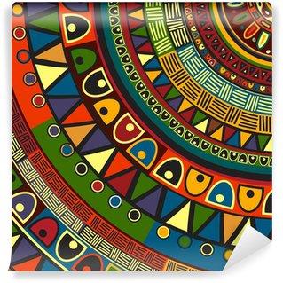 Vinylová Fototapeta Barevné kmenové design