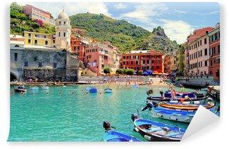Vinylová Fototapeta Barevné přístav v Vernazza, Cinque Terre, Italy