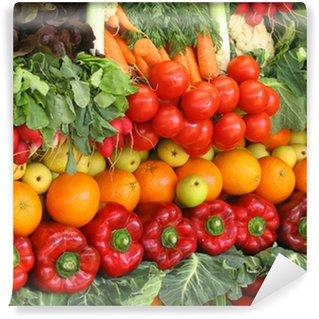 Vinylová Fototapeta Barevné zeleniny a ovoce