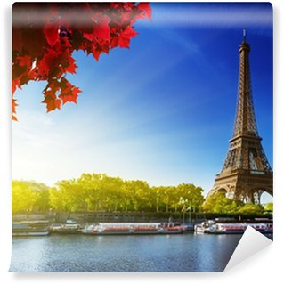 Vinylová Fototapeta Barva podzim v Paříži