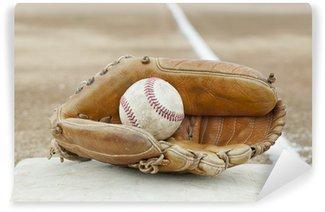 Vinylová Fototapeta Baseball a baseball rukavice