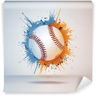 Vinylová Fototapeta Baseball míček