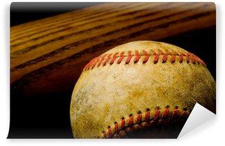 Vinylová Fototapeta Baseballová pálka a míč