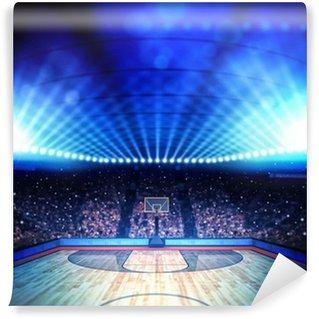 Vinylová Fototapeta Basketbalové aréně