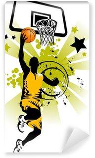 Vinylová Fototapeta Basketbalový hráč ve žlutém