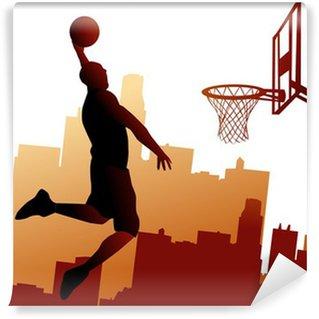 Vinylová Fototapeta Basketbalový hráč