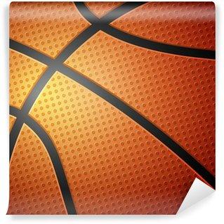 Vinylová Fototapeta Basketbalový míč na pozadí
