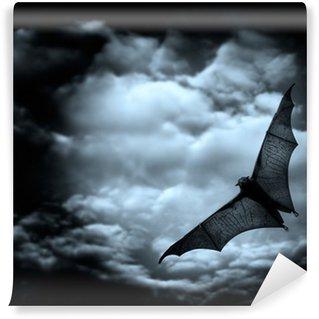 Vinylová Fototapeta Bat létání ve tmě zatažené obloze