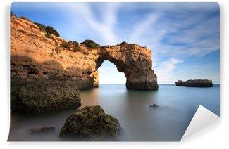 Vinylová Fototapeta Beach cestovního ruchu v Algarve