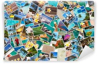 Vinylová Fototapeta Beach dovolená fotografické koláže