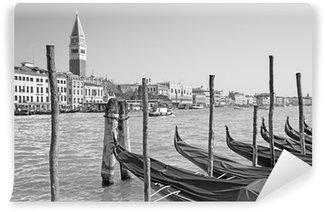 Vinylová Fototapeta Benátky - Canal Grande a gondoly a zvonice