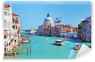 Vinylová Fototapeta Benátky, Itálie. Grand Canal a bazilika Santa Maria della Salute