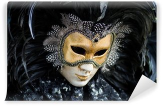 Vinylová Fototapeta Benátky karneval kostým masky