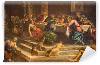 Vinylová Fototapeta Benátky - Poslední večeře Krista Jacopo Robusti - Tintoretto