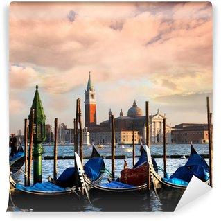 Vinylová Fototapeta Benátky s gondolami na Canal Grande v Itálii
