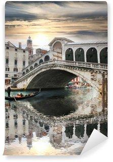 Vinylová Fototapeta Benátky s mostu Rialto v Itálii
