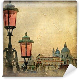 Vinylová Fototapeta Benátská Fotografie - kresby v malba