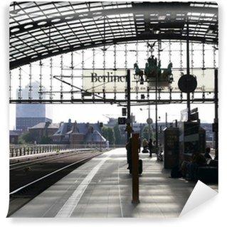 Vinylová Fototapeta Berlin Hauptbahnhof (centrální železniční stanice)