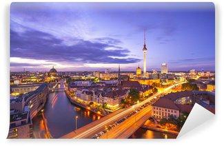 Vinylová Fototapeta Berlín, Německo panoráma města nad řekou Spree