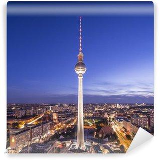 Vinylová Fototapeta Berlín, Německo Skyline