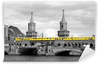 Vinylová Fototapeta Berlin Oberbaumbrücke