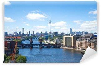 Vinylová Fototapeta Berlin panorama řádění