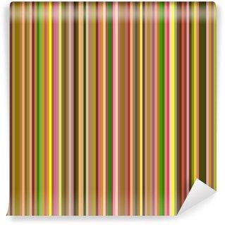 Vinylová Fototapeta Bezešvé teplé barvy svislé pruhy abstraktní pozadí.