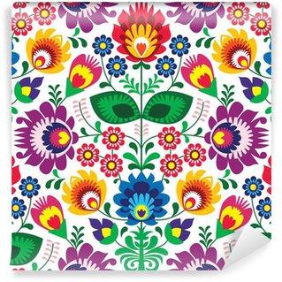 Vinylová Fototapeta Bezešvé tradiční květinový vzor na nehty - etnický původ