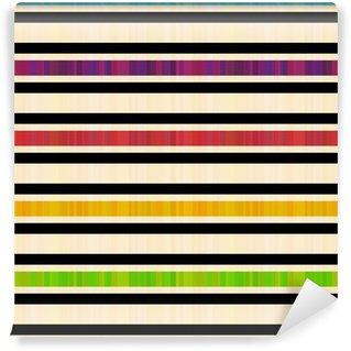 Vinylová Fototapeta Bezešvé vodorovné pruhy vzor