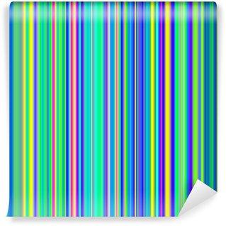 Vinylová Fototapeta Bezešvé zátoka zelené a modré tučné barevné pruhy na pozadí.