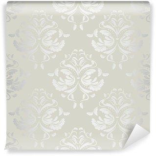Fototapeta Winylowa Bezszwowe tło wallpaper.damask pattern.floral