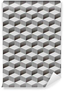 Fototapeta Winylowa Bezszwowe tło z wzorem kostki