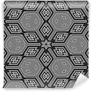 Fototapeta Winylowa Bezszwowych tekstur z 3d figur geometrycznych