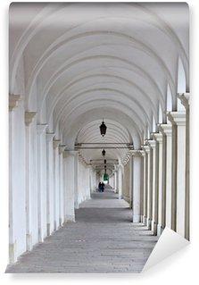 Fototapeta Winylowa Biały kolumnada z dwóch kochanków