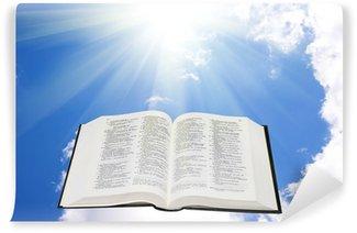 Vinylová Fototapeta Bible svatá na obloze osvětlena slunečním světlem